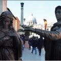 Via Crucis in bronzo 9 marzo – 29 aprile 2011