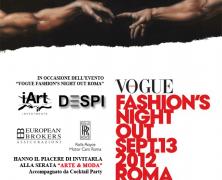 VOGUE FASHION'S NIGHT OUT ROMA 2012