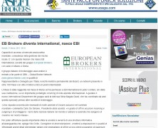 EB diventa International, nasce EBI