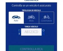 """Allianz: nuova app """"Controllo RCA"""""""