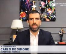 Investimenti e borsa durante il Covid: Carlo De Simone in diretta su Rai1
