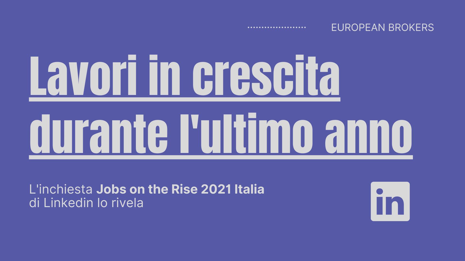 report lavori linkedin 2021