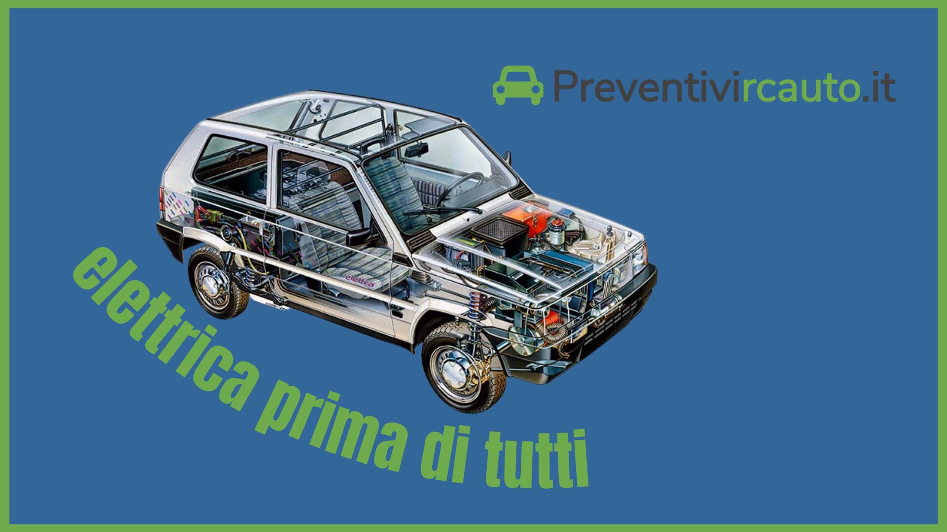 Elettrica prima di tutti. Nel 1990 Fiat trasformava la Panda nella prima vettura elettrica prodotta in serie